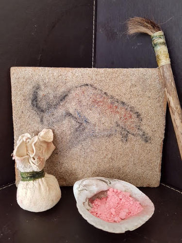 John House's Prehistoric Art Workshop 23rd August-10:30am and 2pm