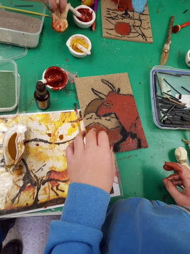 Cave Art with John 27th August-10:30am and 2pm