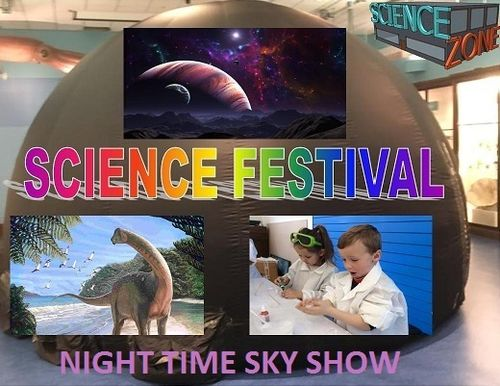 PLANETARIUM NIGHT TIME SKY SHOW-Science Festival-27th Jan-11am-4pm