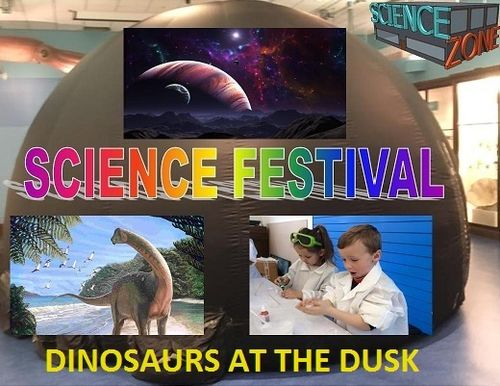 PLANETARIUM DINOSAURS-Science Festival-27th Jan-11am-4pm